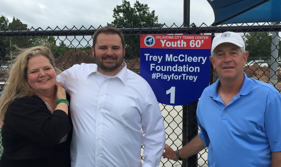 Sponsorship and Initial Donation to FirstServe and Oklahoma City Tennis Center