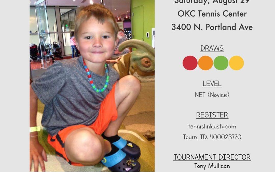 6th Annual Play for Trey Tennis Tournament